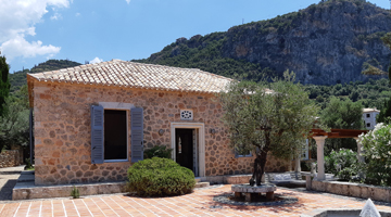LEIGH FERMOR HOUSE OPENS TO PUBLIC