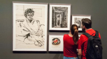 "Guided tours to the exhibition ""Avigdor Arikha: A Breath"""