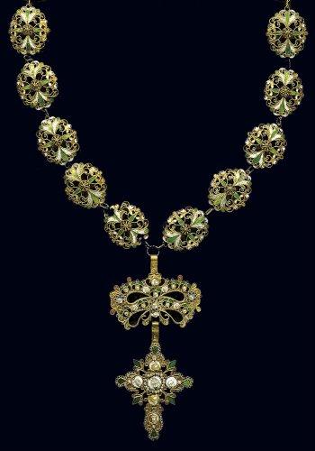 Χρυσό περιδέραιο με διάτρητο διάκοσμο e60d05a6c14