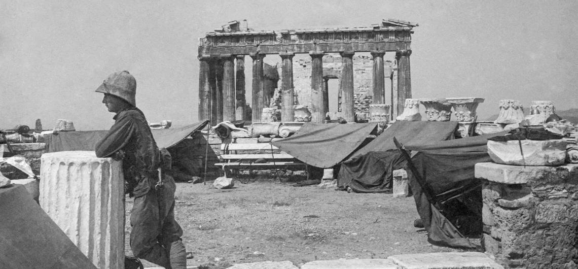 Athens 1917</br>Through the eyes of the Army of the Orient